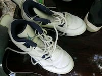 pair of white Air Jordan 5's Columbia, 29203