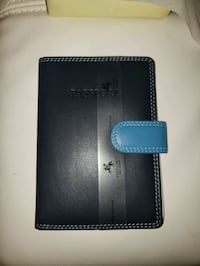 Leather passport case with wallet Laurel, 20708