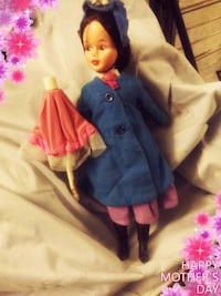 girl in blue and pink dress doll Johnson City, 37601
