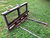 Assorted 3 point hitch tractor attachments.  Frederick, 21704