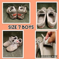 Boots size 7y Nikes  Abilene, 79602