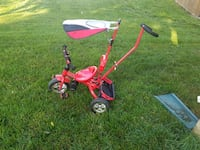 toddler's red and white trike Bristow
