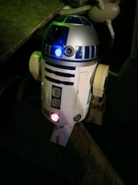 Voice controlled Star Wars droid R2D2