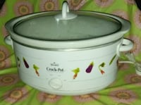 white and green Rival Crock-Pot slow cooker Germantown, 20874
