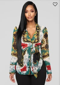 Beautiful print shirt in L/XL (Brand new) Chicago, 60612