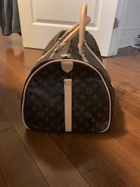 brown and white Louis Vuitton leather tote bag Ottawa, K1T 0C6