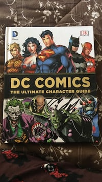 DC comics the ultimate character guide Ladner, V4K