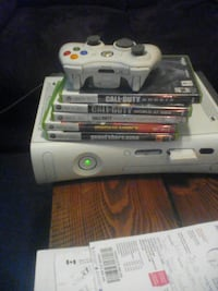 Xbox 360 w/controller and games Abbotsford, V2T 6H5