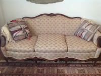 beige and brown 3 seat sofa Alexandria, 22304