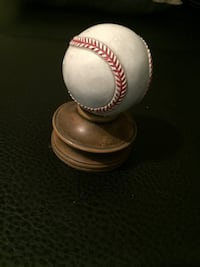 white and brown wooden baseball decor Pearl, 39208