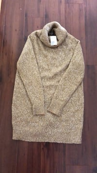 Women's (H&M)brand new tags on sz small (but can fit to medium person as well)high neck sweater Edmonton, T6L 6X6