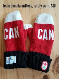 Team Canada mittens  Port Severn, L0K 1S0