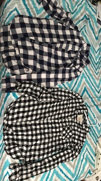 Size s flannels $5 each Imperial, 92251
