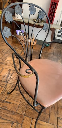 vintage Table and chairs  wrought iron dining set Santa Monica, 90403