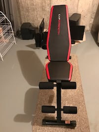 black and red Capstrength bench press Vaughan, L6A 0T9