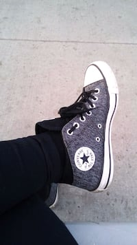 unpaired black Converse All Star high top sneaker Edmonton, T5T 0N8