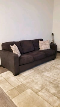 Charcoal grey couch / sofa Westminster, 80021