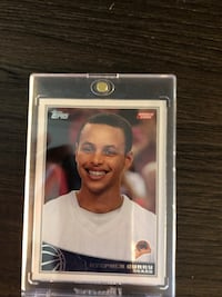 Stephen Curry Rc card