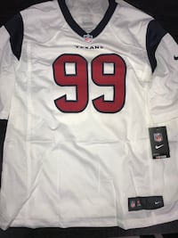 white and black NFL jersey Houston, 77092