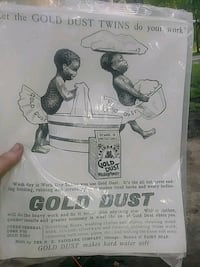 Gold dust twins...black art lithograph Bushnell, 33513