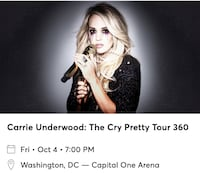 Carrie Underwood - Capital One Arena Oct.4 2019 Washington