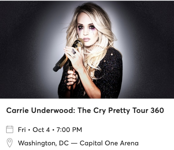 Carrie Underwood - Capital One Arena Oct.4 2019 39d9164c-a9f2-46b1-b3e2-3b1e335502ff