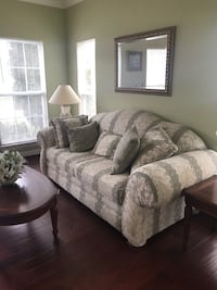 gray fabric 3-seat sofa Upper Marlboro, 20774