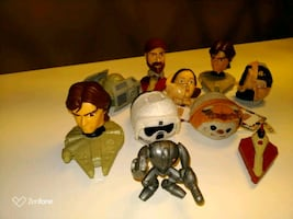 Lot of  the star wars figure