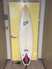 "Lost SurfBoard 6""0 Wrightsville Beach"