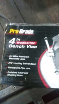 bench vise 4 inch, new in box Portland, 97220
