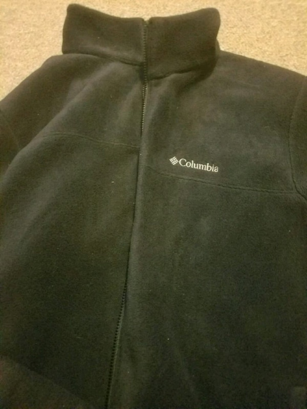 Columbia XL black fleece