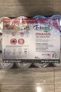 Sterno ethanol gel chafing fuel Yonkers, 10701