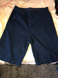 black and blue Nike shorts Triangle, 22172