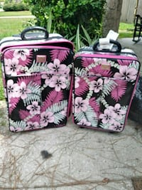 two pink and white floral Vera Bradley bags Port Orange, 32129