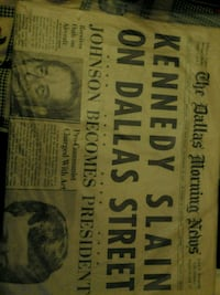 The Dallas Morning News Saturday  Nov. 23, 1963 Las Vegas, 89102