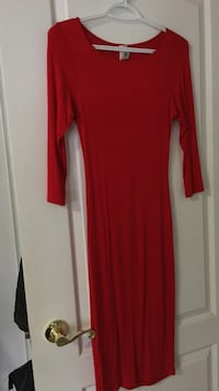 Red Midi-Dress Size S/M Vaughan, L4H 0X9