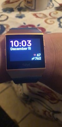 silver-colored smartwatch with black strap McAllen, 78504
