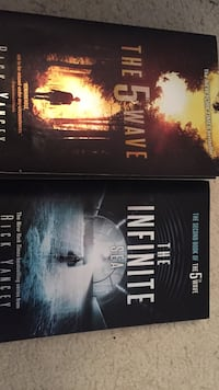The 5th wave paper back book and The Infinite sea paper back book Flowery Branch, 30542