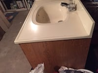 "Bathroom vanity 36"" with the faucet Saint James, 11780"