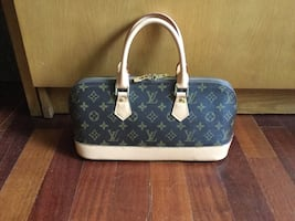 Louis Vuitton Copy leather tote bag.