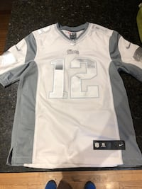 white and gray Nike jersey shirt Windsor Junction, B2T 1A4