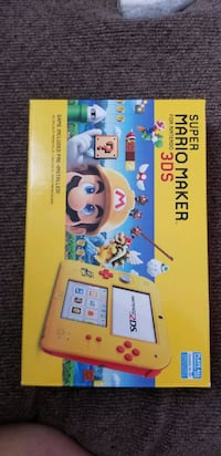 Nintendo 2DS with 2 games Mario Sports and Mario 3D lands
