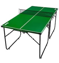 Franklin Sports Mid Size Table Tennis Table - Ideal for Smaller Spaces - Space Saving Design Bakersfield, 93307