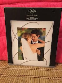 """Lenox silver plated 8""""x10"""" picture frame brand new Bethlehem"""