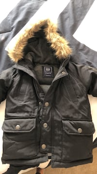 black and brown parka jacket Surrey, V3W