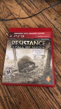 Sony PS3 resistance fall of man 538 km