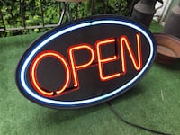 Neon OPEN Sign Abbotsford