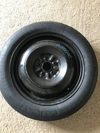 Spare Tire with Rim