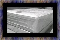 """Full 16"""" double pillow top mattress with boxspring Upper Marlboro, 20772"""