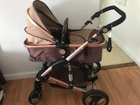 Baby's black and gray stroller New York, 11207